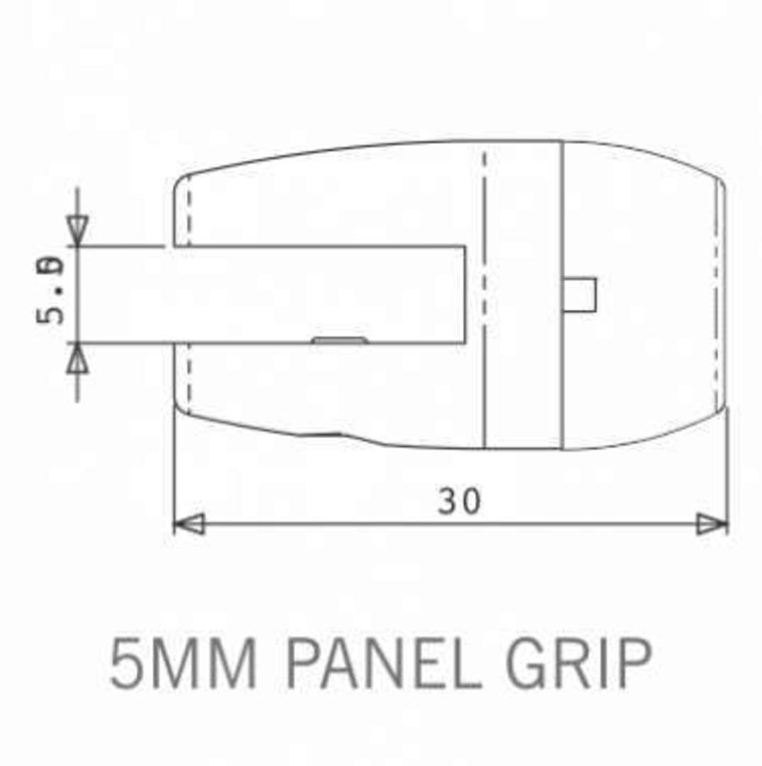 Axis Panel Grip 5mm image 1