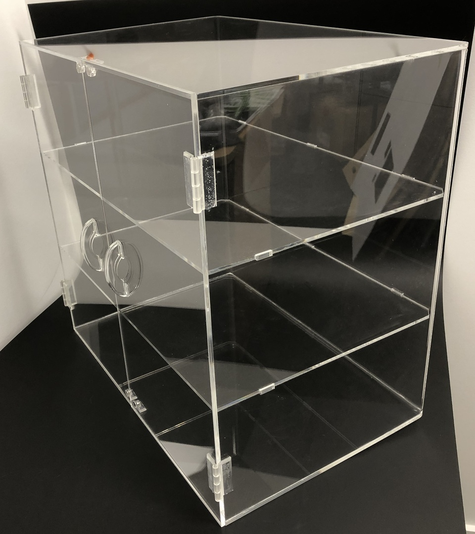 Food Display Cabinet with Double doors image 1