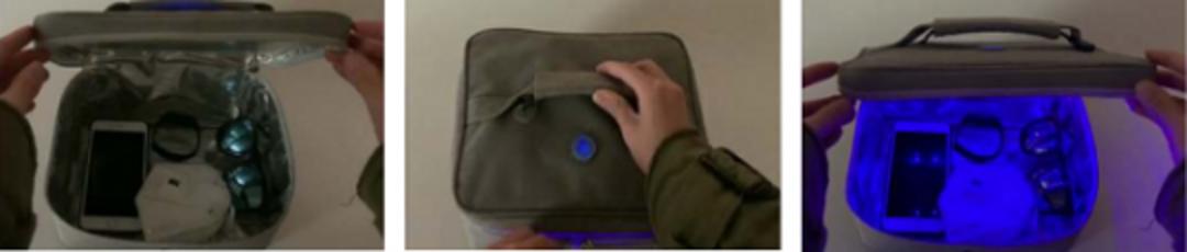HANDBAG SAFE 2020 – UV-C Handbag Disinfection System image 1
