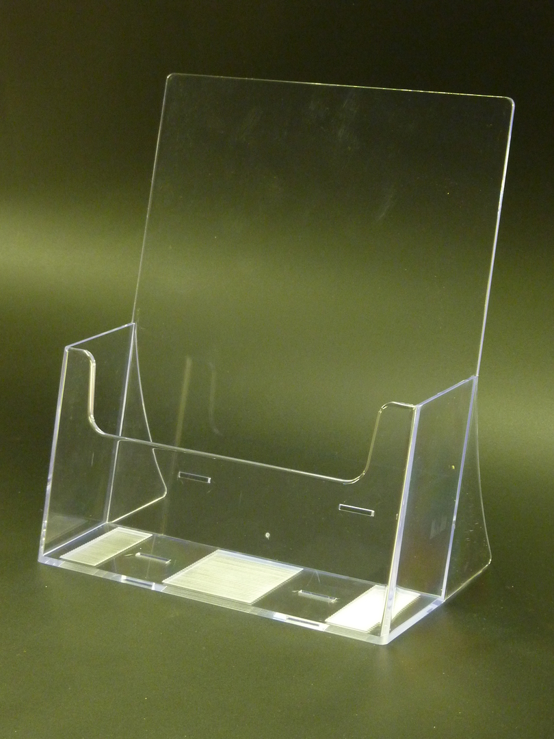 A4 Extra Capacity Desk Brochure Holder image 0