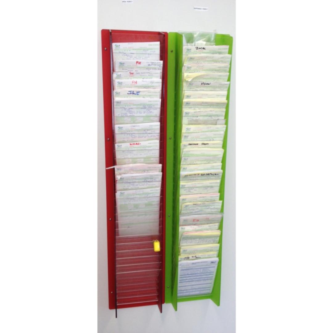 Custom Multi Pocket Literature Holder image 0