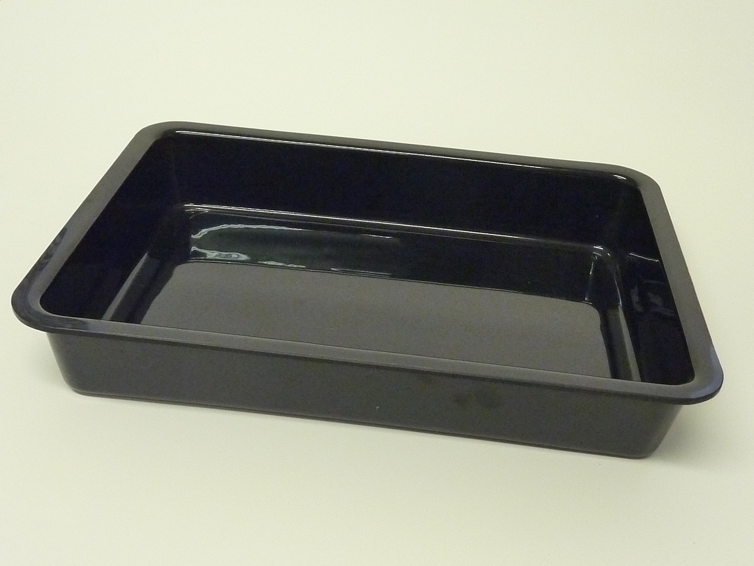 (Tray-004-ABSB) Tray 004 Black image 0