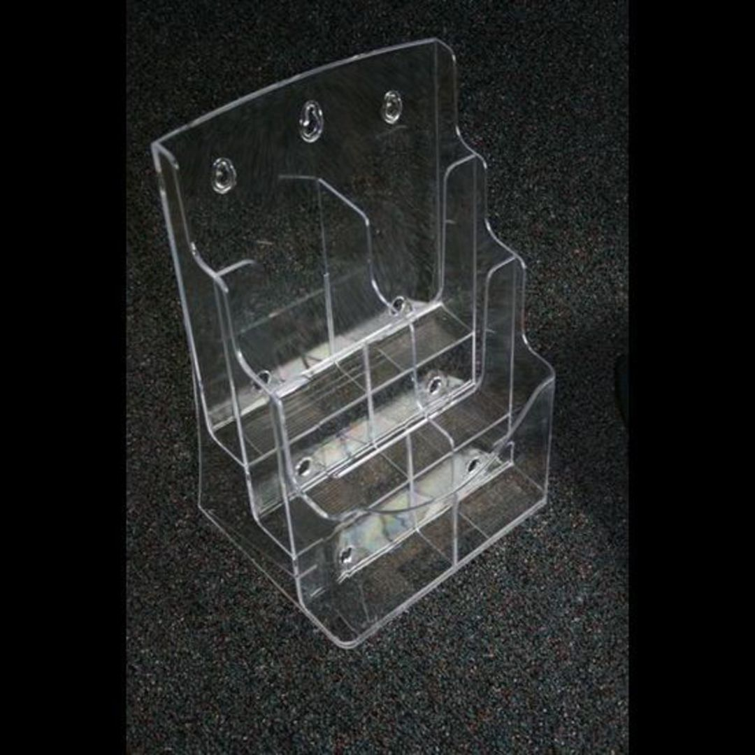 DLE 2-Wide x 3-Tier (6 Pocket) Brochure Holder image 0