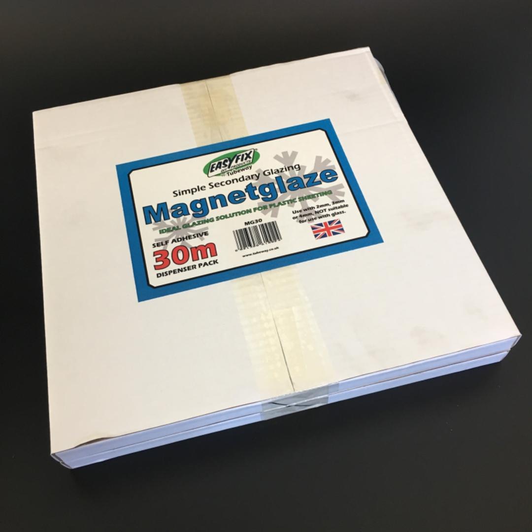 MagnetGlaze DIY Double Glazing Roll 30m image 0