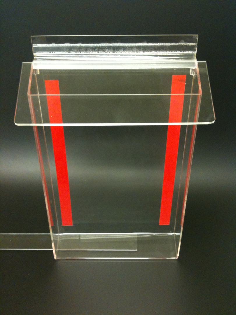 A5 Outdoor Brochure Holder Clear Lid image 0