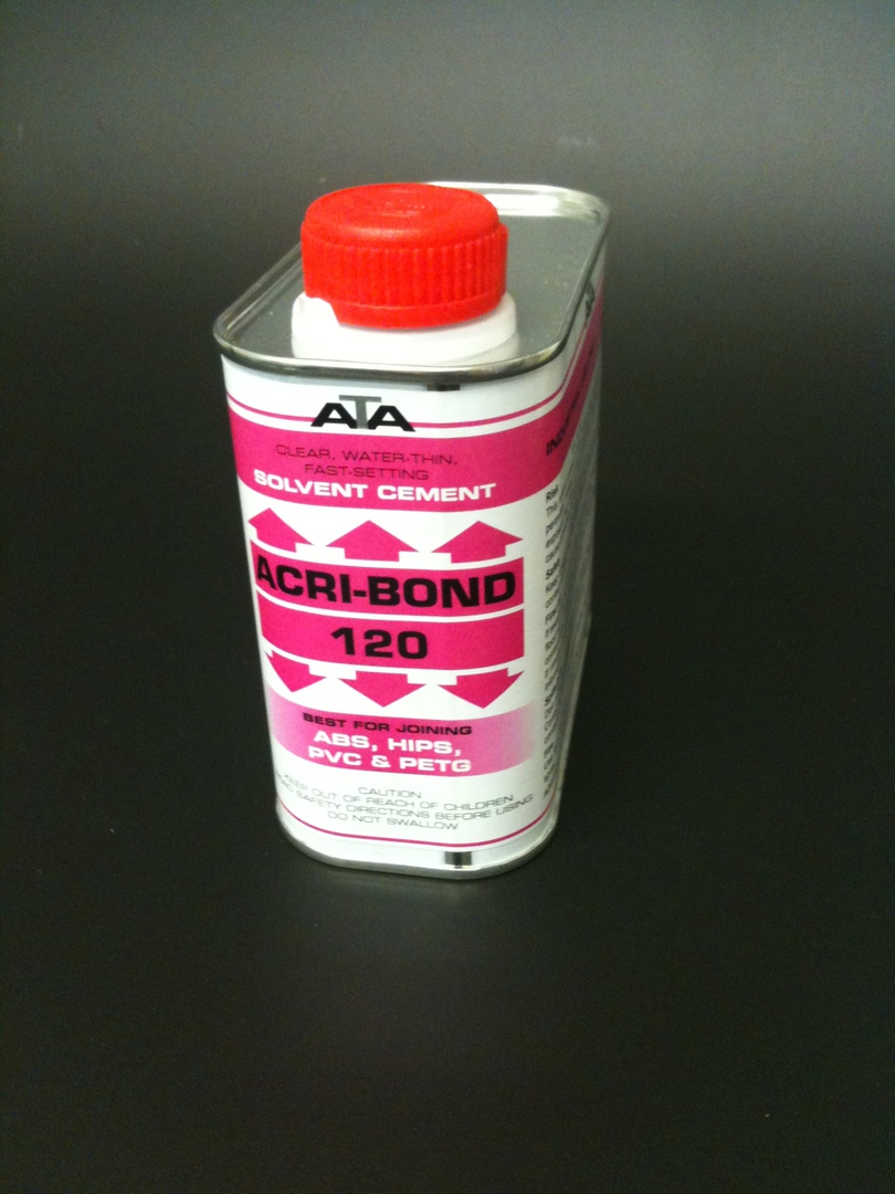 120 Acribond 0.5L Tin Solvent Adhesive image 0
