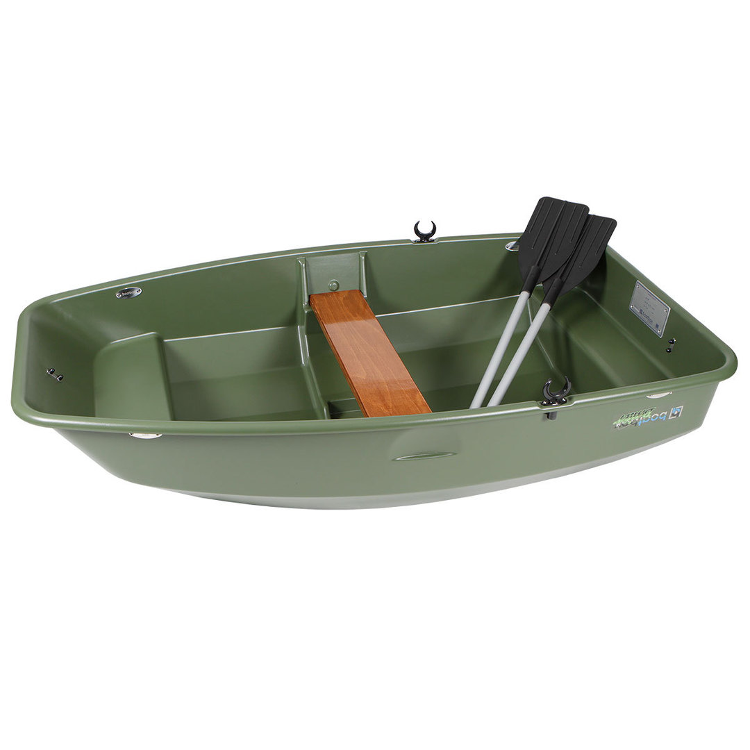 Green Rooftop Boat Box Complete image 4