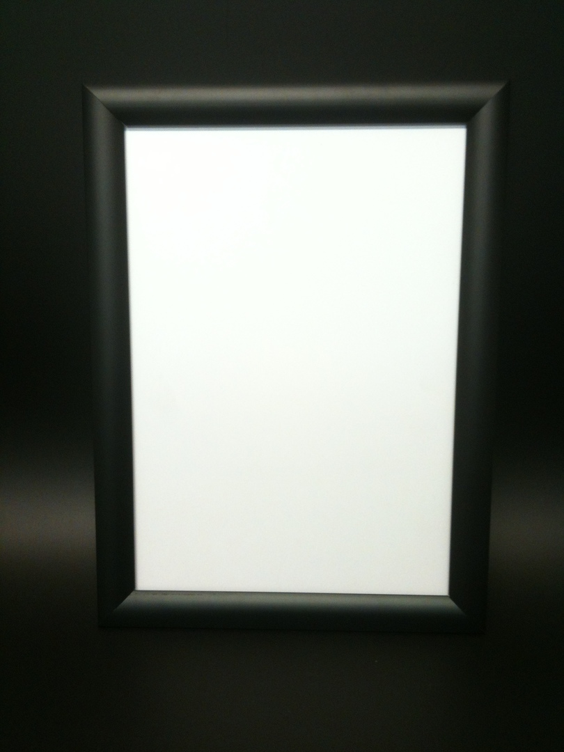 A3 Black Square 25mm Snap Frame image 0
