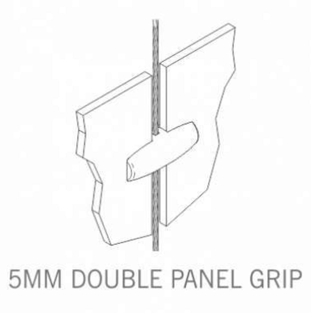Axis Double Panel Grip 5mm image 2