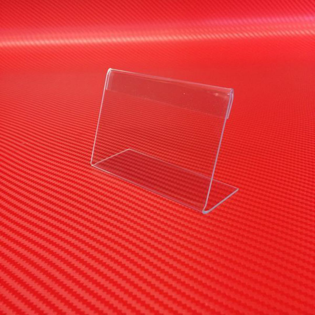Single Business Card Holder Straight Angle image 0
