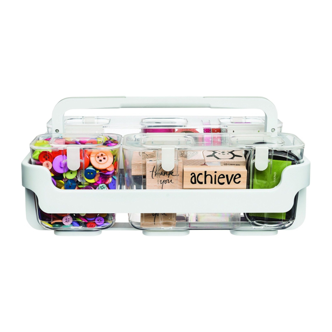 Stackable Caddy Organiser with 3 Containers image 4