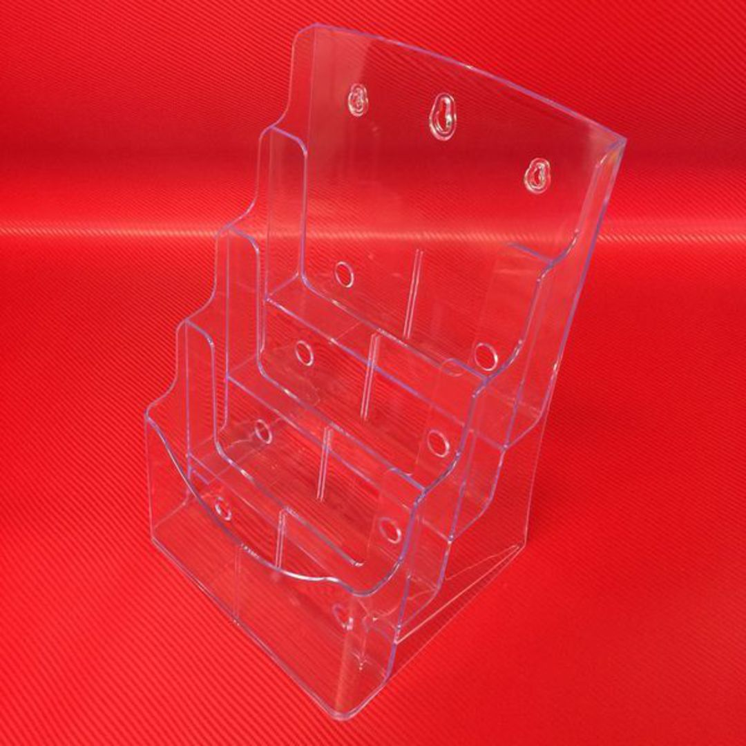 A4 4-Tier Brochure Holder image 0