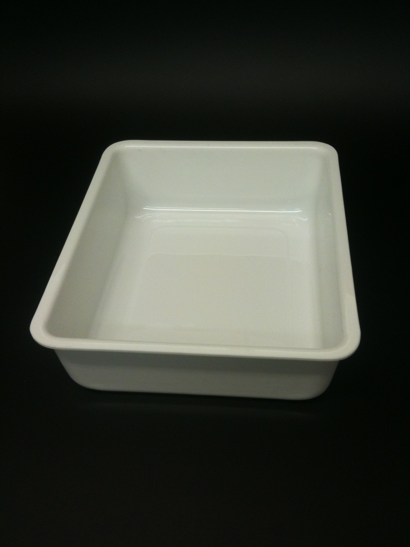 (Tray-FT300--4-ABSW) Tray FT300--4 White image 0