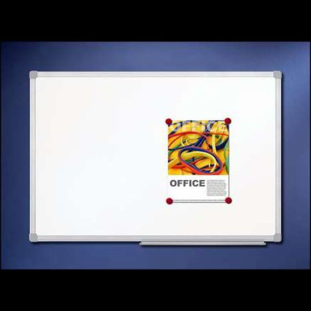 (93101) Magnetic White Board, 1200x900mm image 0