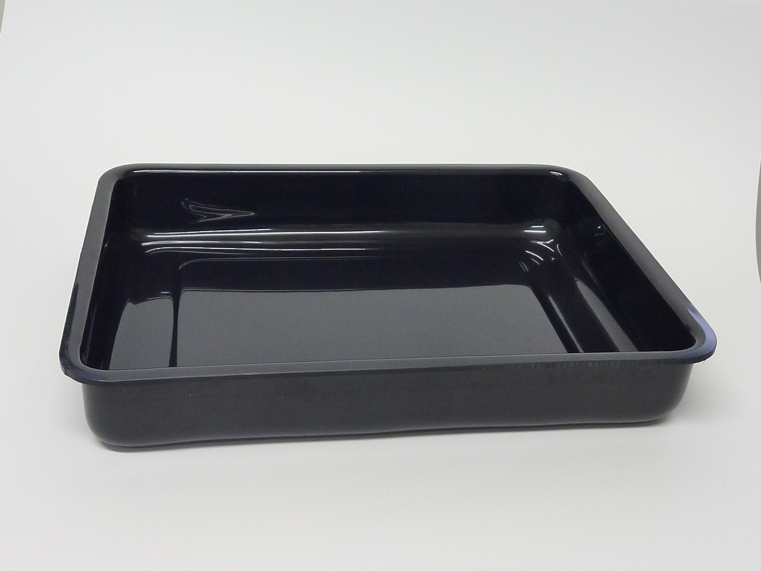 (Tray-021-ABSB) Tray 021 Black image 0