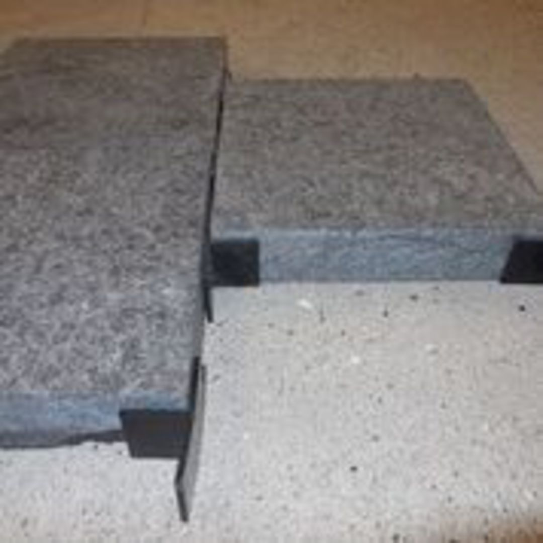 Paver spacer T shape 20mm x3mm thick image 1