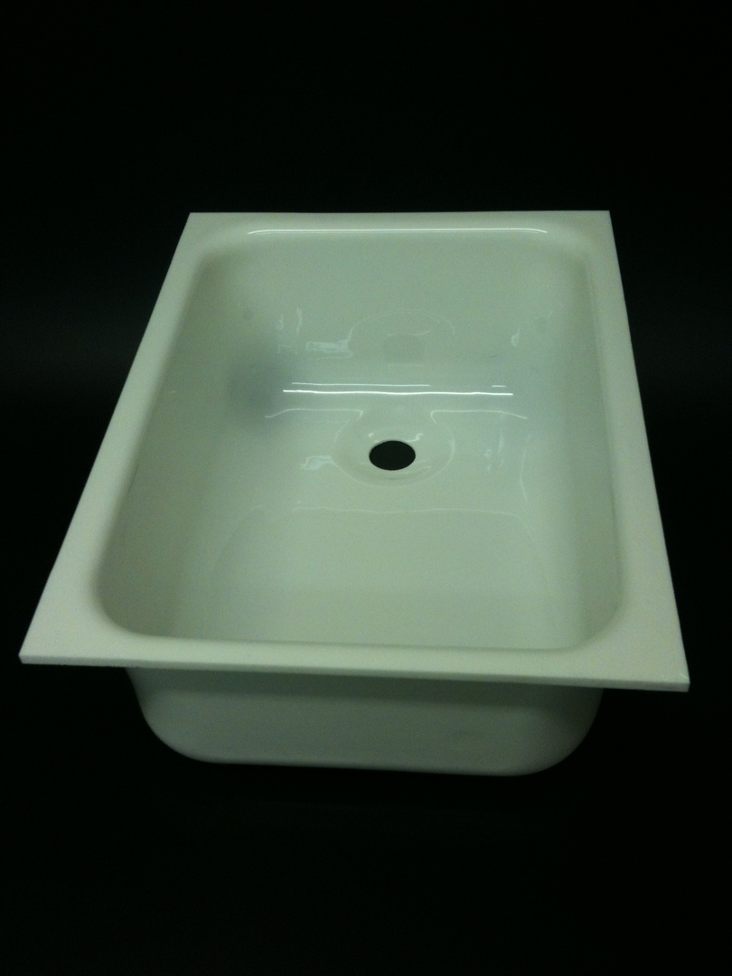 Caravan Large Sink B White image 0