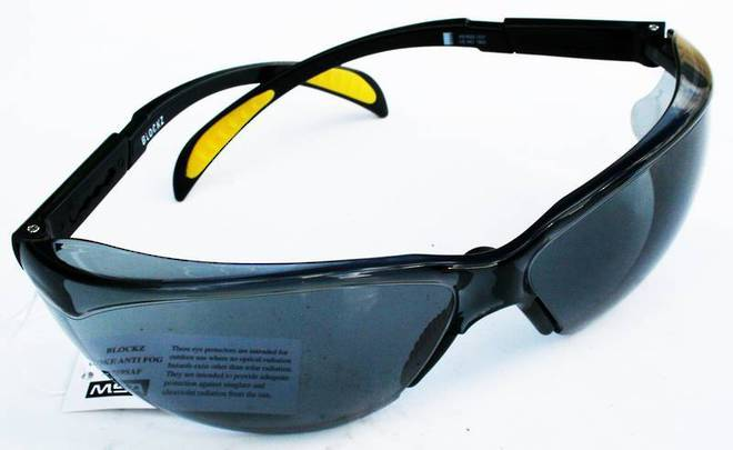 Antifog & Scratch Protection Safety Glasses image 0