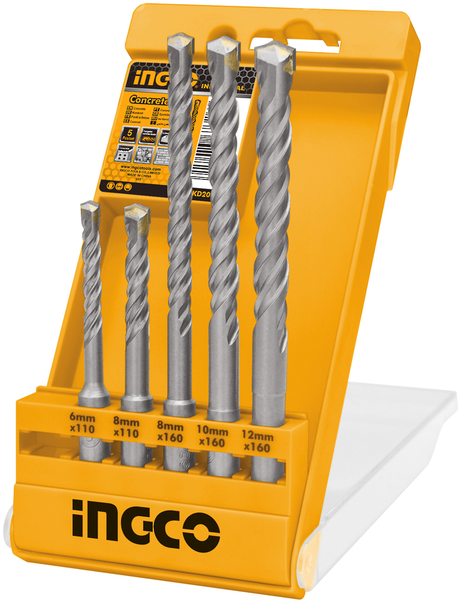 Ingco SDS Plus Hammer Drill Bit Set image 0