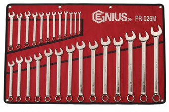 WRENCH R&OE SET 6-32mm 26pc GENIUS image 0