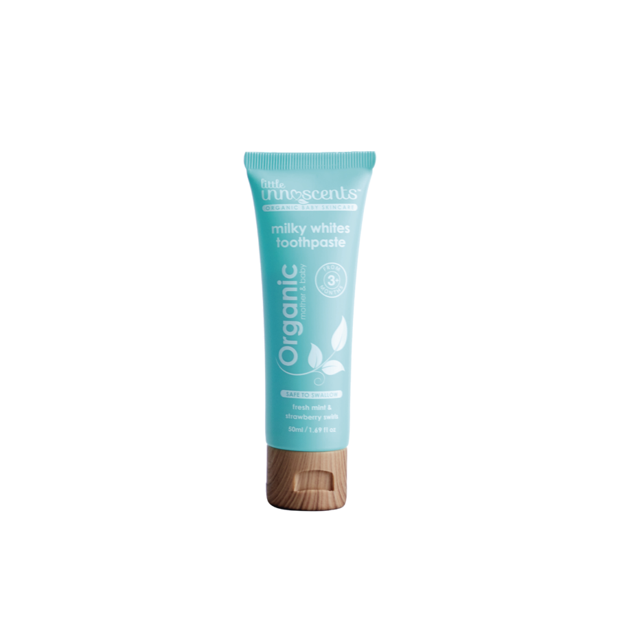 Little Innoscents Organic Milky White Toothpaste image 0