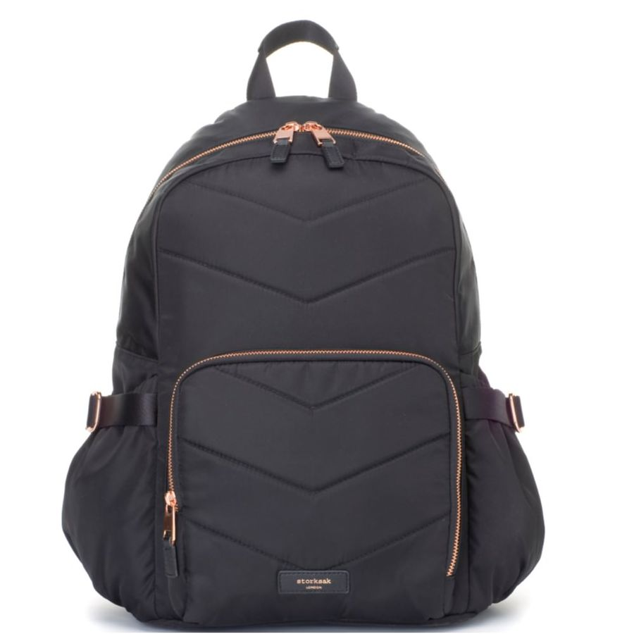 Storksak Hero Backpack Nappy Bag - Quilt Black image 0