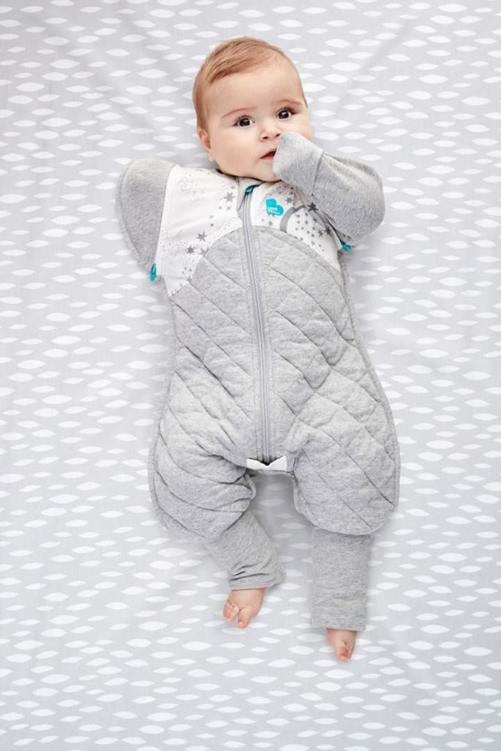 Love to Dream Swaddle Up Transition Suit 2.5 Tog White - Large image 2