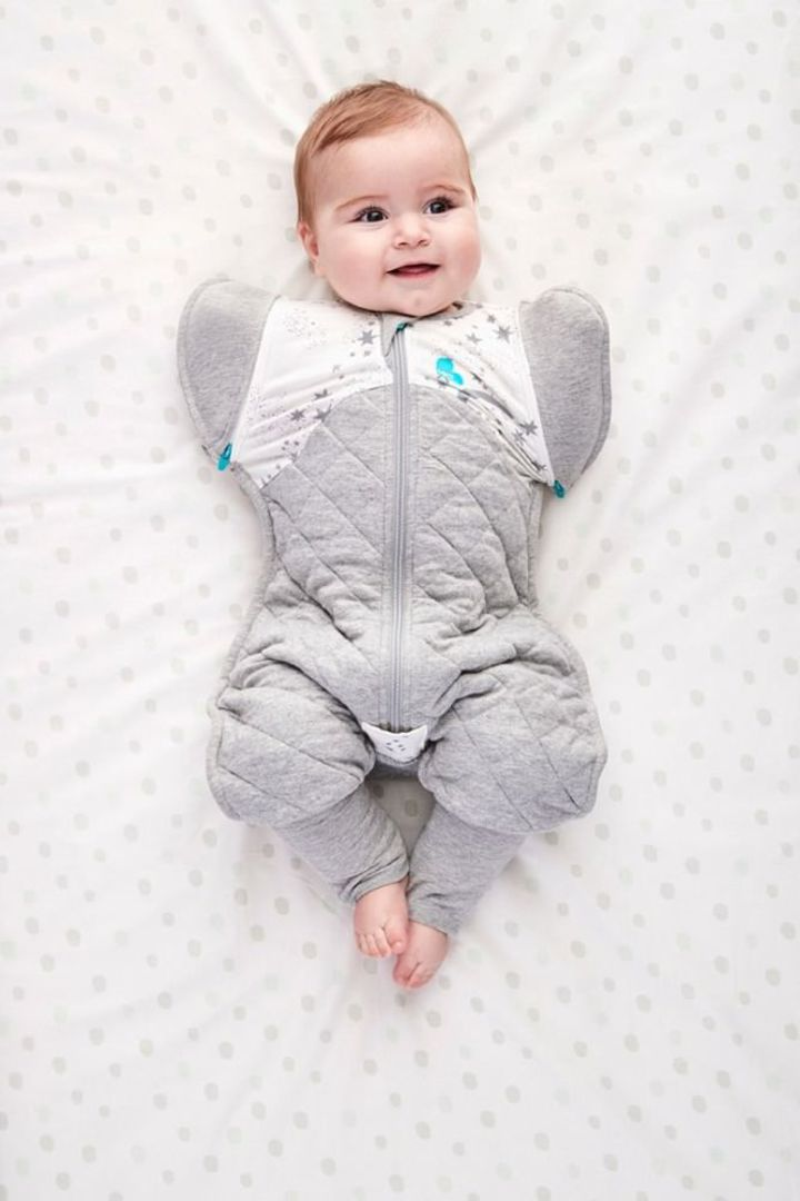 Love to Dream Swaddle Up Transition Suit 2.5 Tog White - Large image 1