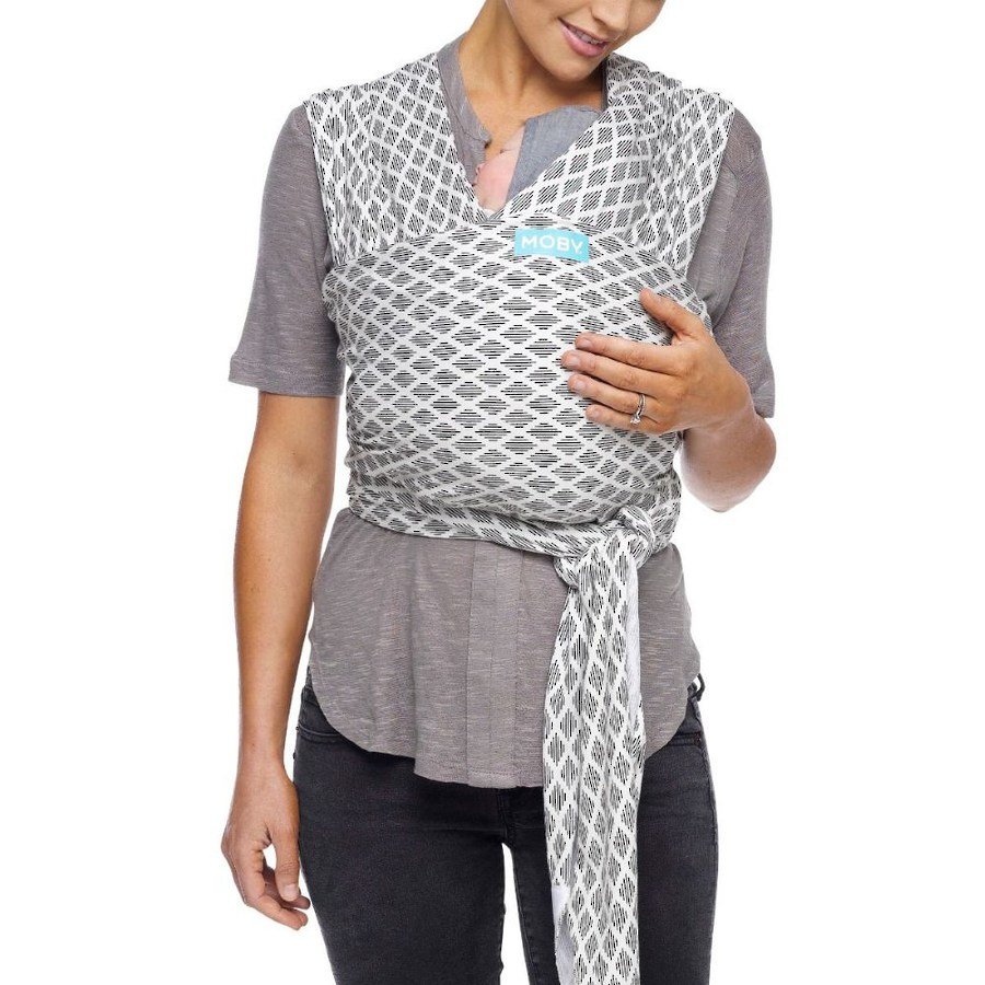 Moby Evolution Baby Wrap - Diamonds image 0