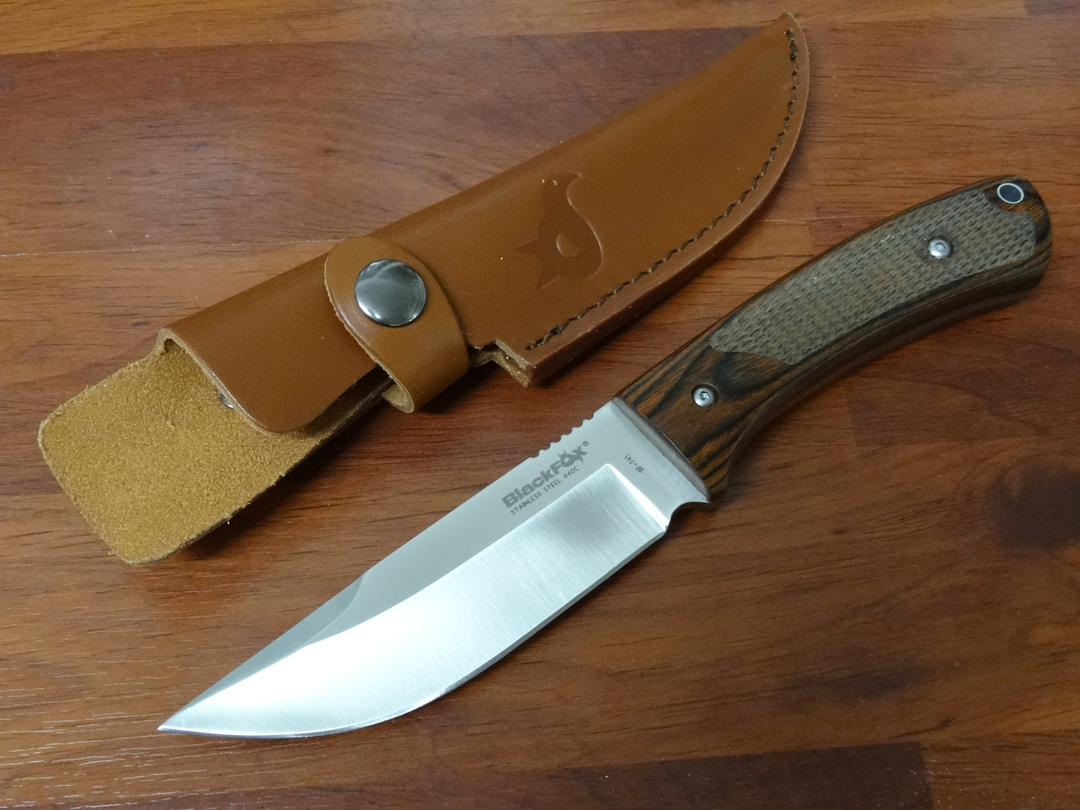 Fox Knives Black Fox COMPANION Hunter Knife BF741 image 0