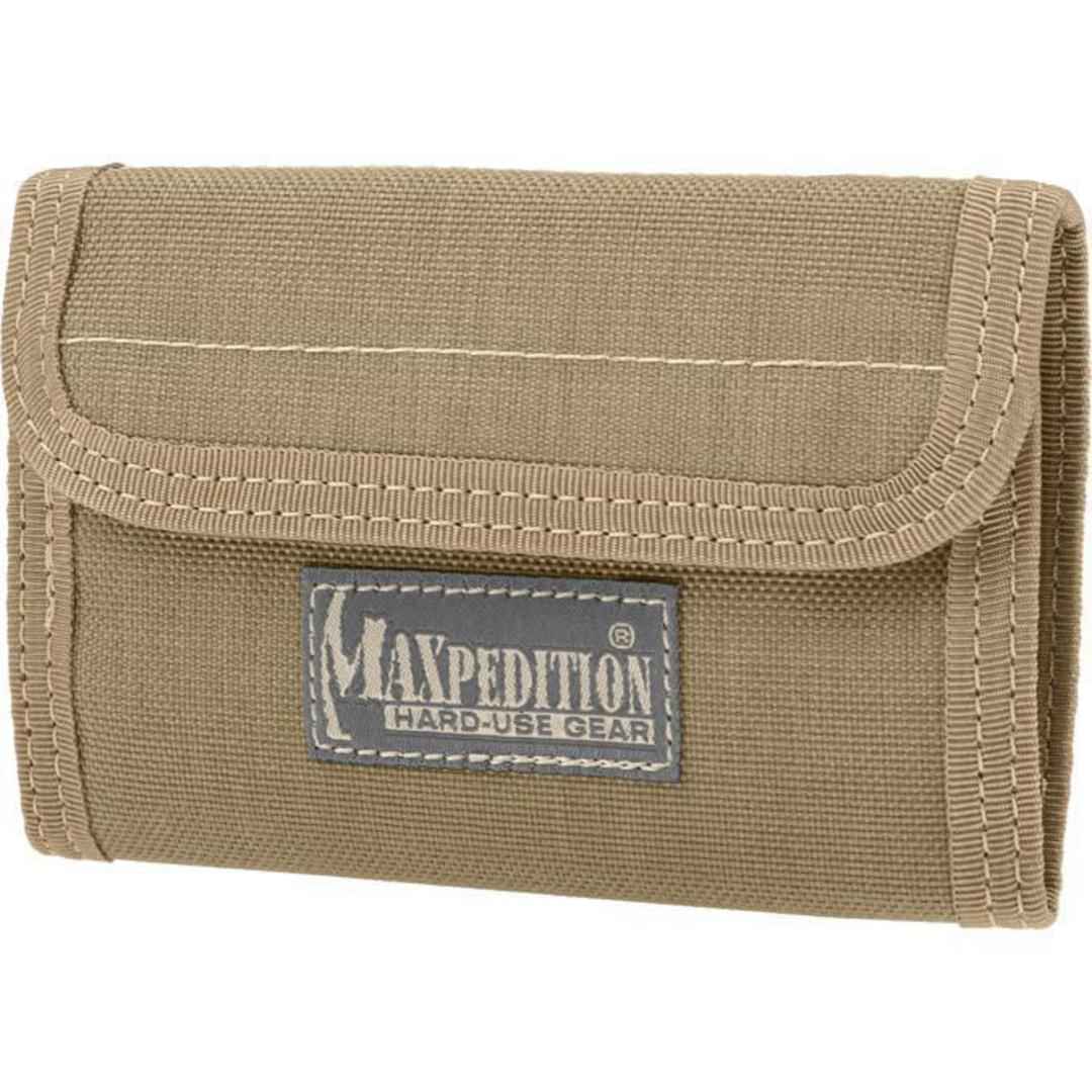 Maxpedition Spartan Wallet Khaki image 0
