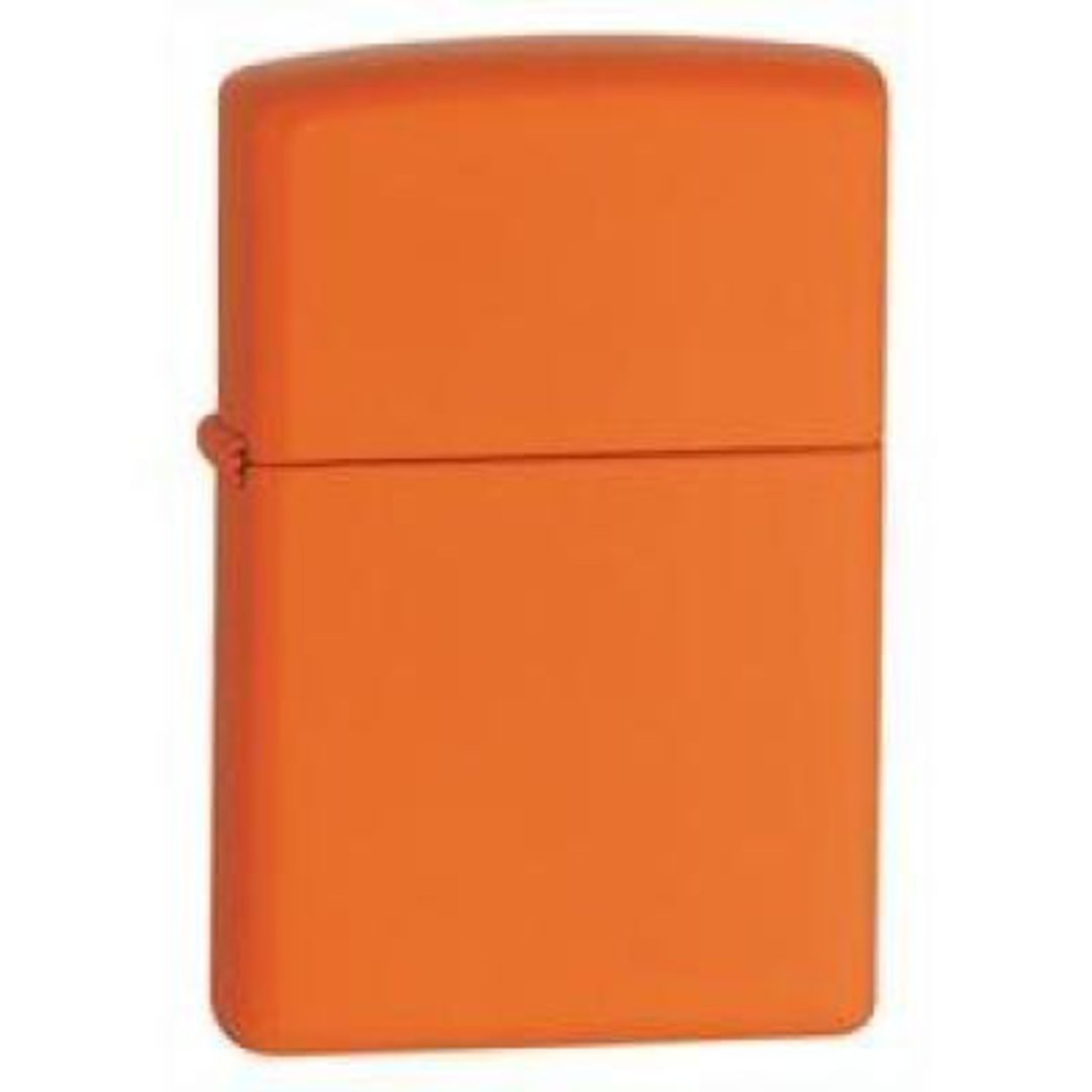 Zippo Orange Matte Lighter image 0