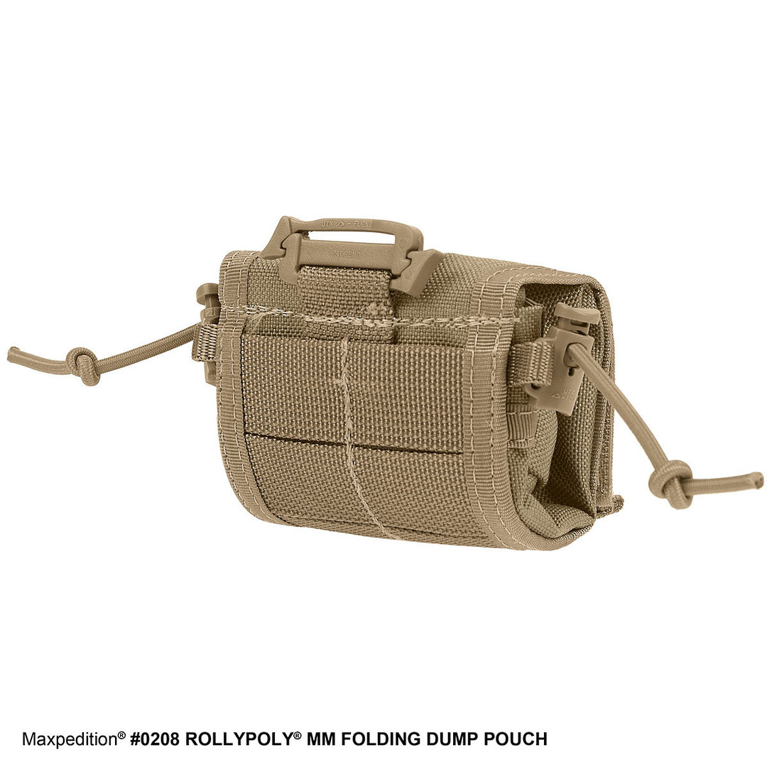Maxpedition Rollypoly® MM Folding Dump Pouch - Khaki image 1