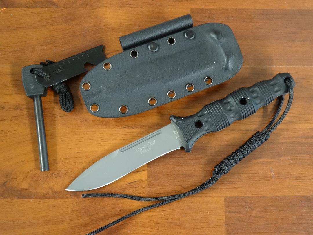 Fox Knives Black Fox Felis Fixed Blade BF706B image 0