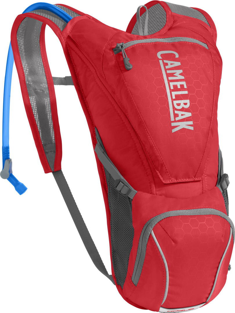 Camelbak Rogue Hydration Pack 2.5L Red|Silver image 0