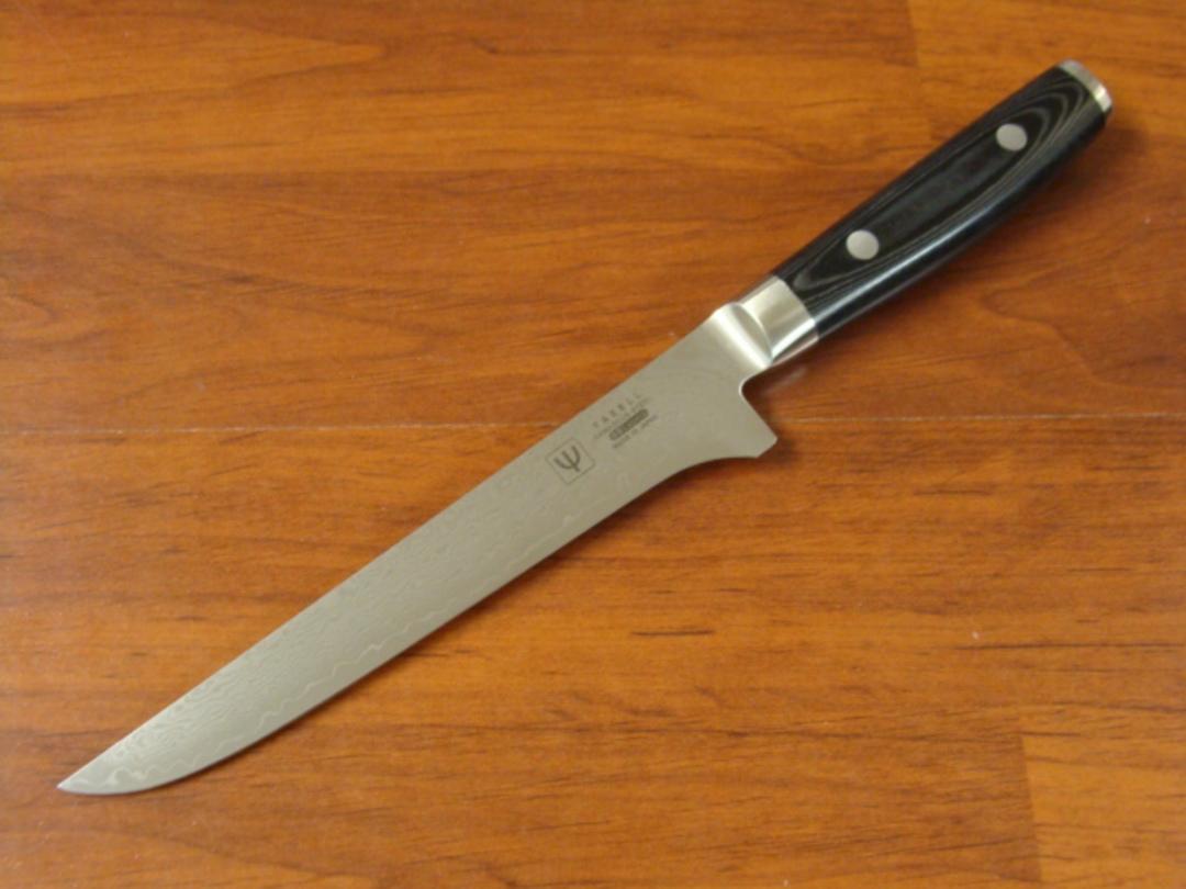 RAN Japanese DAMASCUS BONING KNIFE 150mm image 0