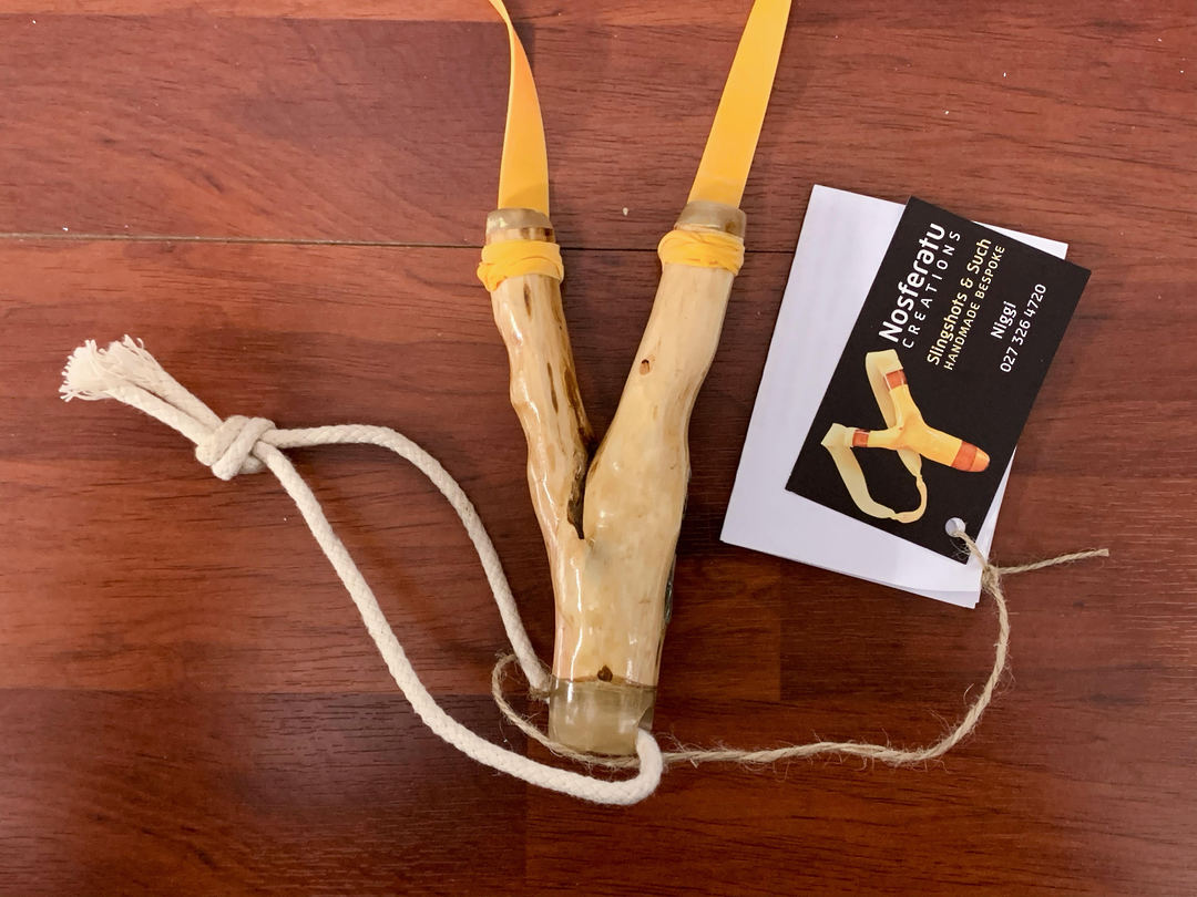 Nosferatu Gentleman's Pocket Hare Remover Slingshots Handmade N01 image 2