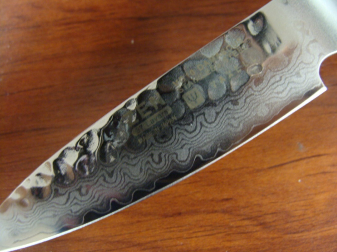 Zen Damascus VG-10 Japanese Paring Knife 80mm - 37 Layers image 1