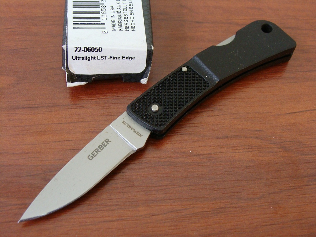 Gerber Ultralight LST Lockback Folding Knife image 0