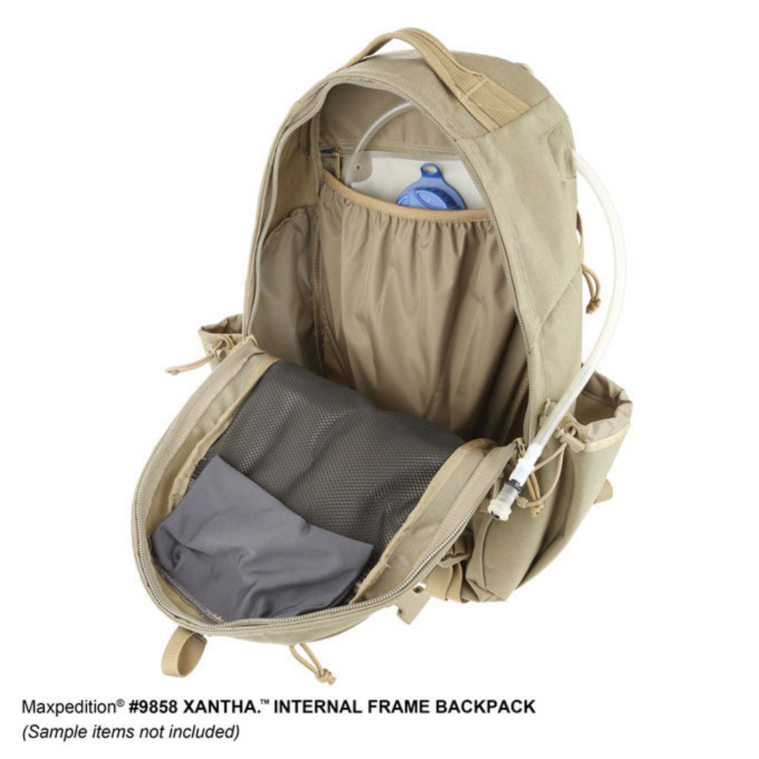 Maxpedition XANTHA INTERNAL FRAME BACKPACK (Large) - Khaki image 12