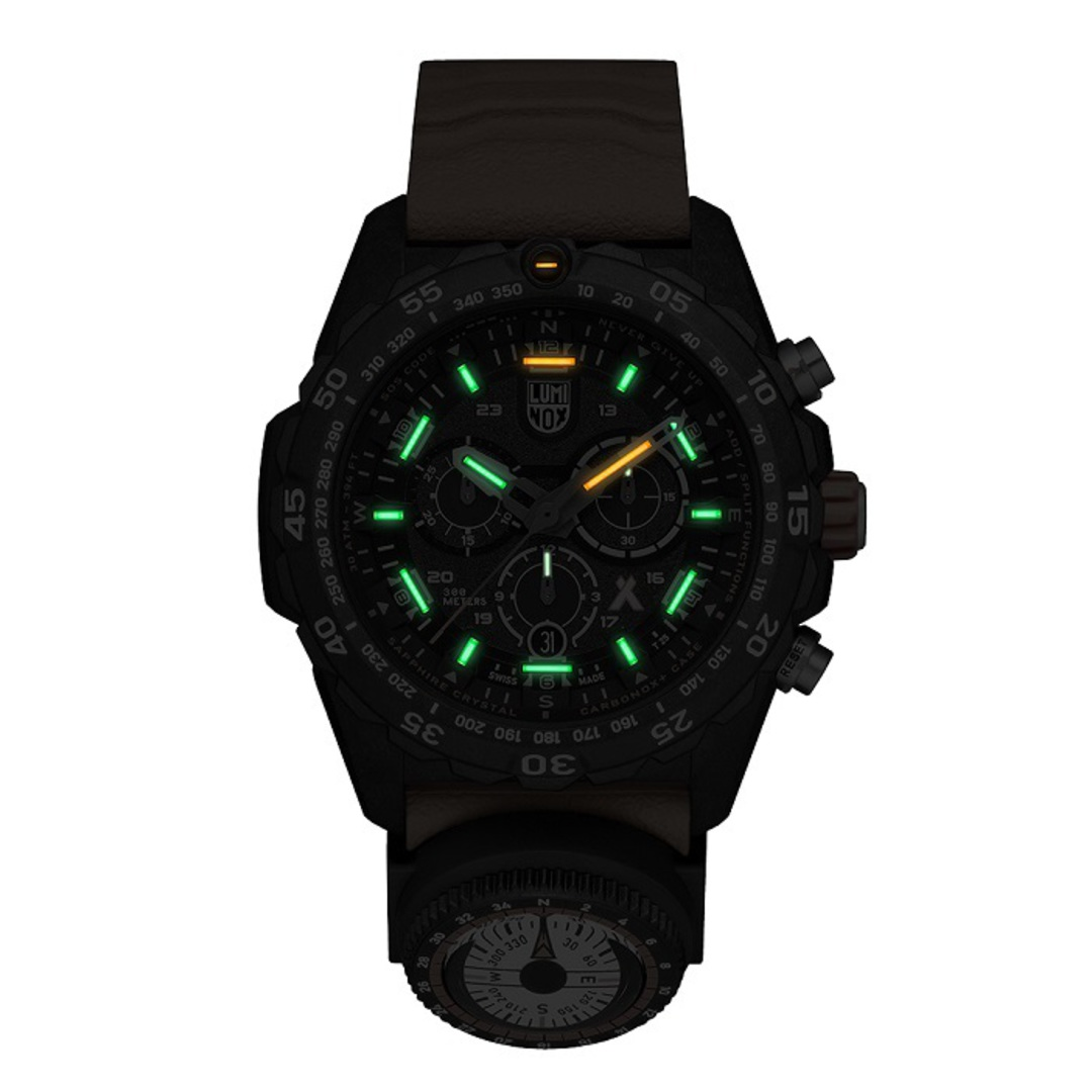 Luminox Chronograph Bear Grylls Surviva Watch Orange - 3749 image 1