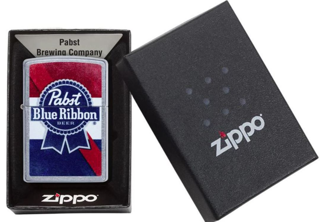 Zippo Pabst Blue Ribbon Lighter image 0