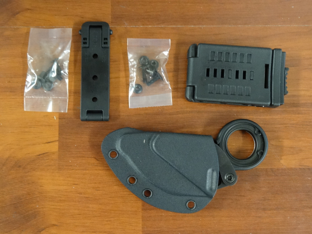 CRKT Kinematic Provoke First Responder Folding Karambit with Ceramic Glass Breaker, Boltaron Sheath image 2
