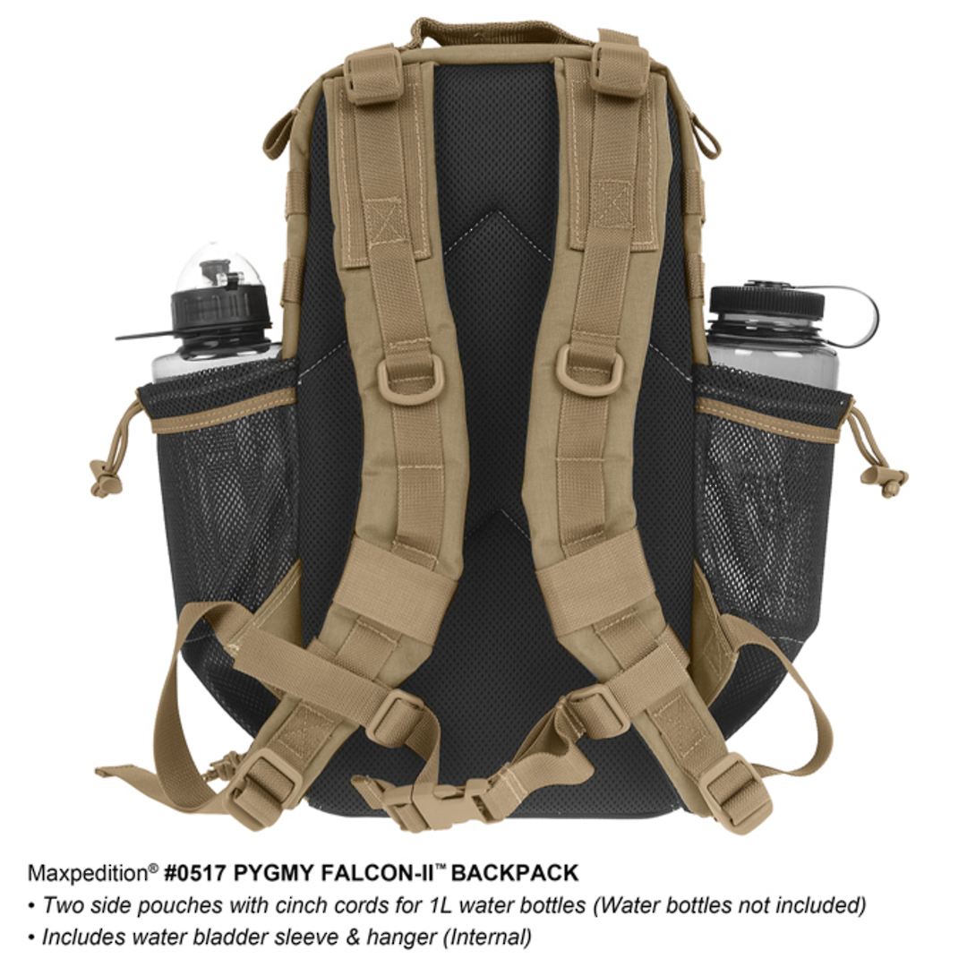 Maxpedition Pgymy Falcon II Backpack - Black image 3