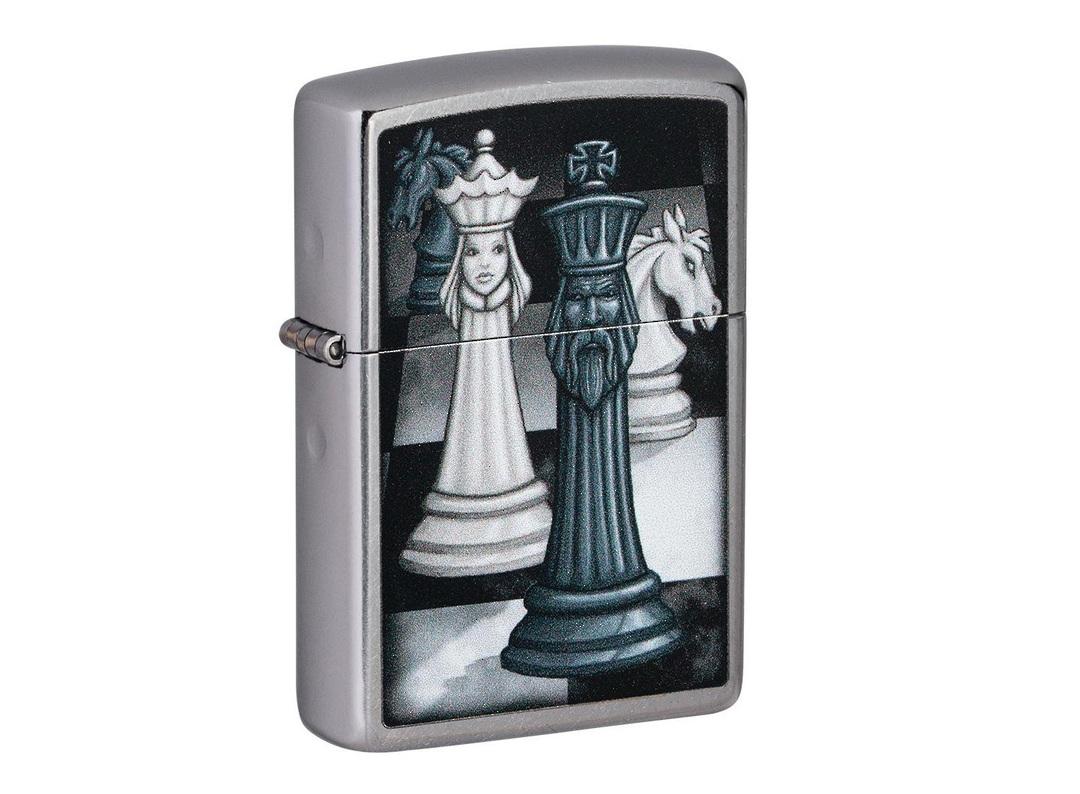Zippo Chess Game Design Lighter image 0