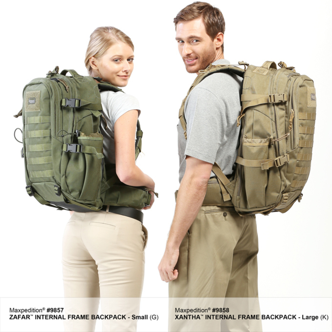 Maxpedition XANTHA INTERNAL FRAME BACKPACK (Large) - Khaki image 15