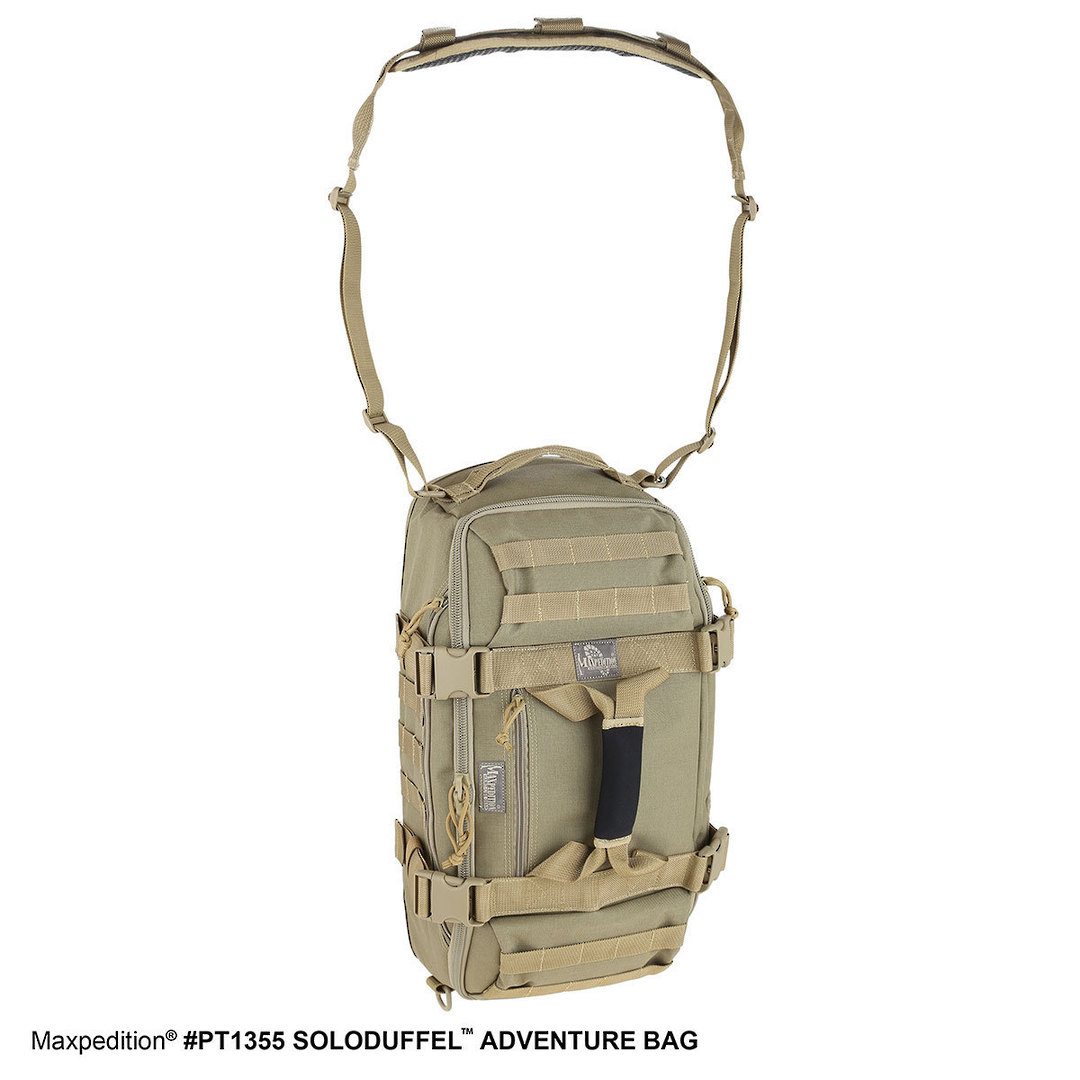 Maxpedition Soloduffe™ Adventure Bag - Khaki PT1355K image 7