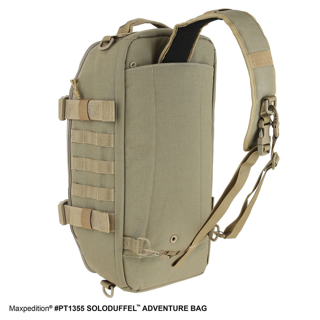 Maxpedition Soloduffe™ Adventure Bag - Khaki PT1355K image 4