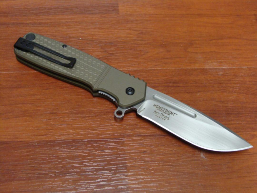 CRKT Ken Onion Homefront Field Strip Flipper Folding Knife image 1