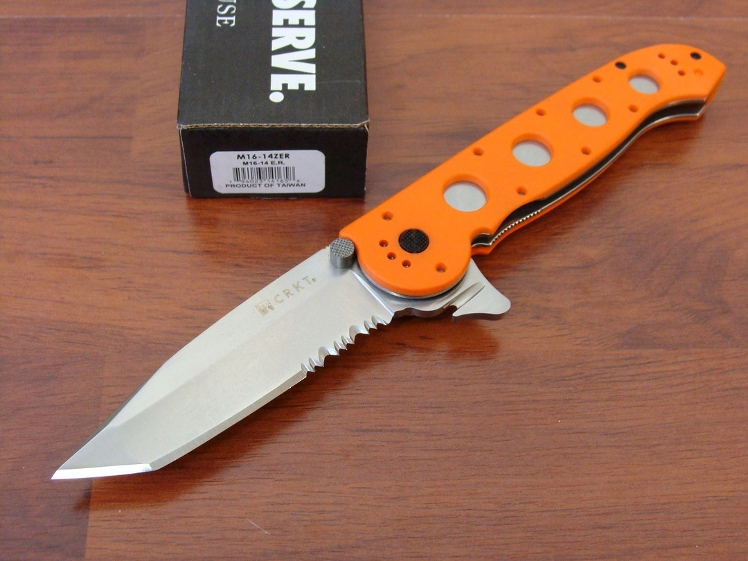 CRKT M16-14ZER Tanto Folding Knife image 0